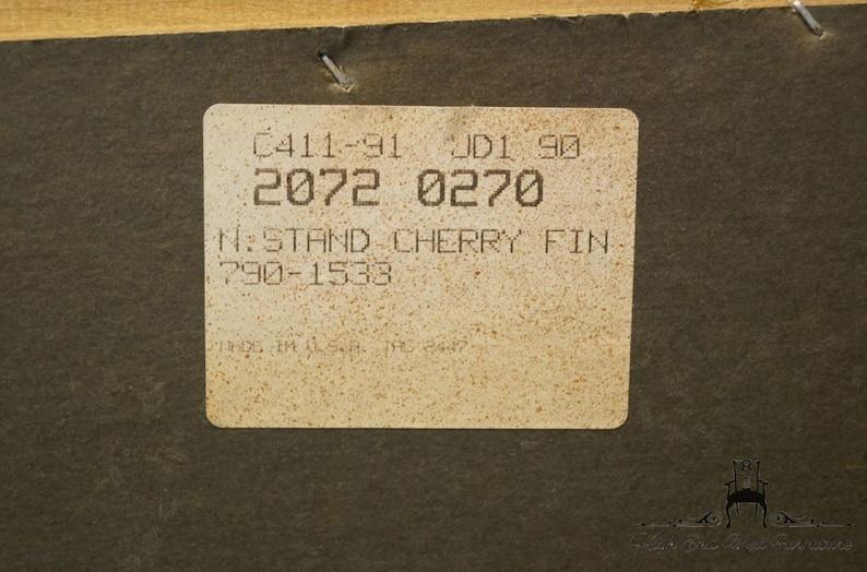 BASSETT FURNITURE Eden House Cherry 26 Two Drawer Nightstand 2072-0270