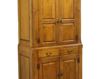 "LEXINGTON Bob Timerlake Old Salem Collection 44"" Chest on Chest Armoire 725-312"