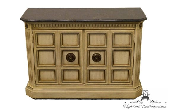 image 0 - STANLEY FURNITURE French Provincial Antique White 46 Etsy