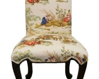 GUILD MASTER Harvest Theme Upholstered Accent Chair