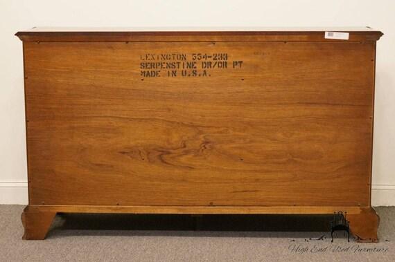 LEXINGTON Palmer Home Collection Mahogany 66 Serpenstine | Etsy