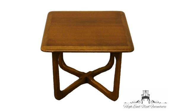5b26fdfd480fb LANE FURNITURE Mid Century Modern End   Lamp Table