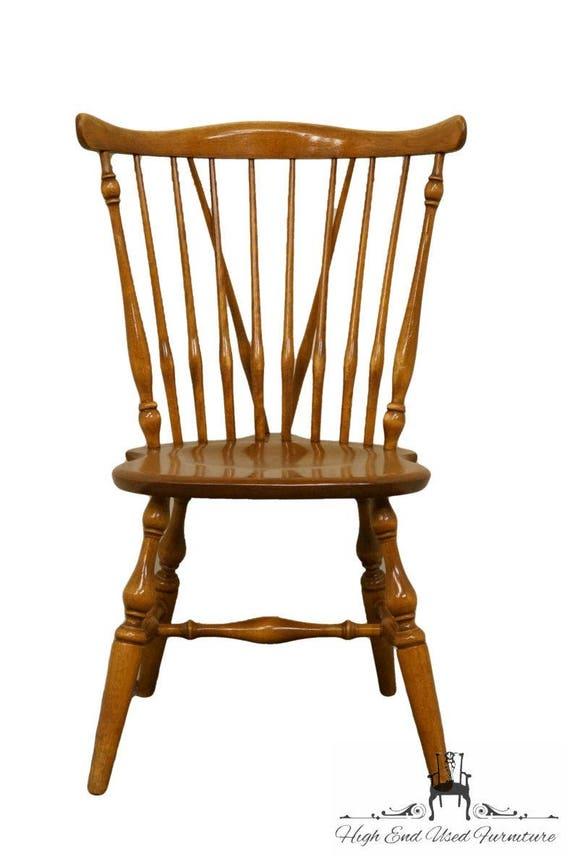 Charmant ETHAN ALLEN Heirloom Maple Fiddleback Duxbury Side Chair   Etsy