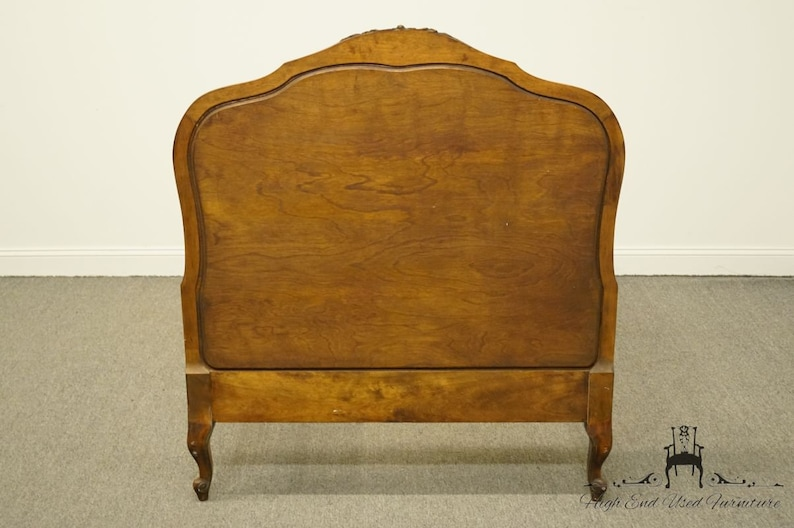 BETHLEHEM PA Bookmatched Mahogany Twin Size Bed