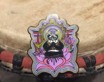 Panda hat pin