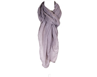 6fcca862fc0c0 Plain color Scarf, Cotton Solid Color wrinkle Linen Scarf, fashion scarf,  more than 30 colors, beach scarf, Romance taupe