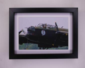 Lancaster Airplane Print