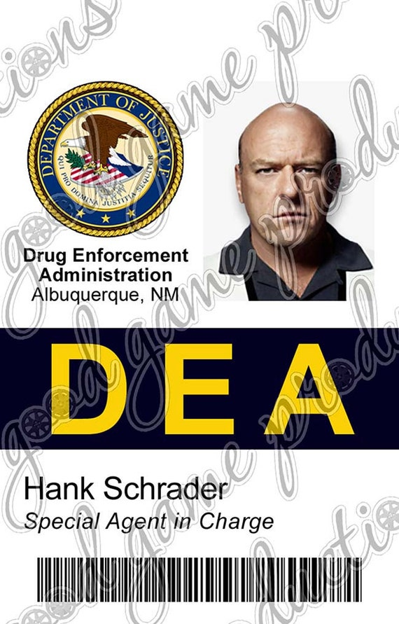 Id Screen pvc Etsy Bad Similar Hank Dea To Schrader Accurate Items Badge - amp; Breaking On