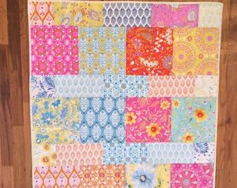 Dena Designs Sunshine Linen Baby Quilt