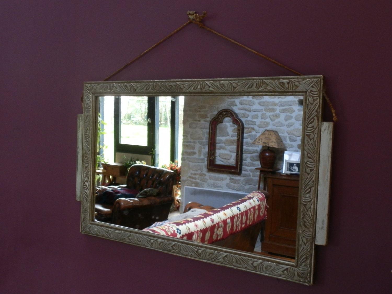 miroir art nouveau etsy. Black Bedroom Furniture Sets. Home Design Ideas