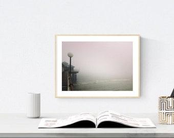Nice wall art, Photo print, landscape, rosa, sea