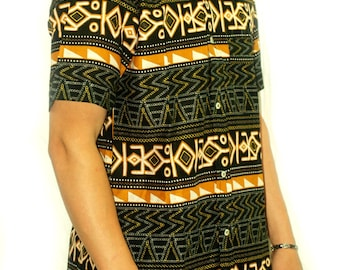Beautiful shirt made from African fabric