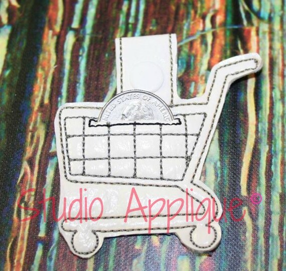 Shopping Cart Quarter Holder
