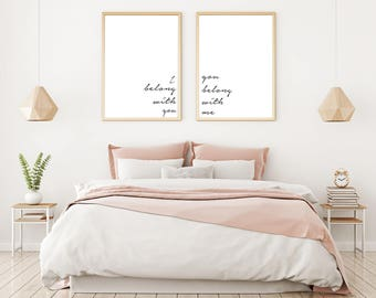 Love Quote Wall Art Etsy