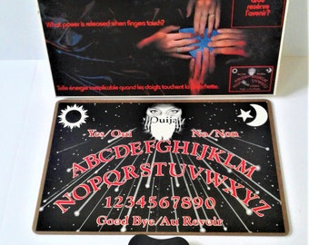 Vintage OUIJA BOARD GAME #60270 ~ Canada Games ~ French English