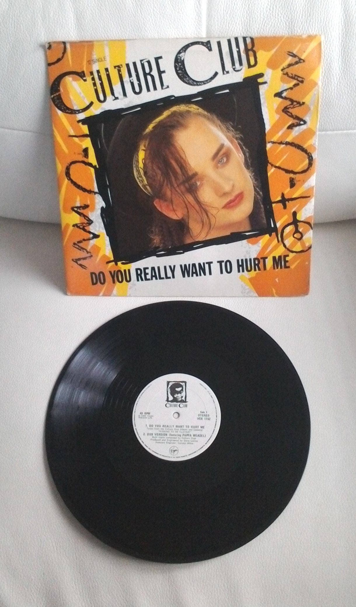Culture Club Boy Geeorge Do You Really Want To Hurt Me Rare Etsy