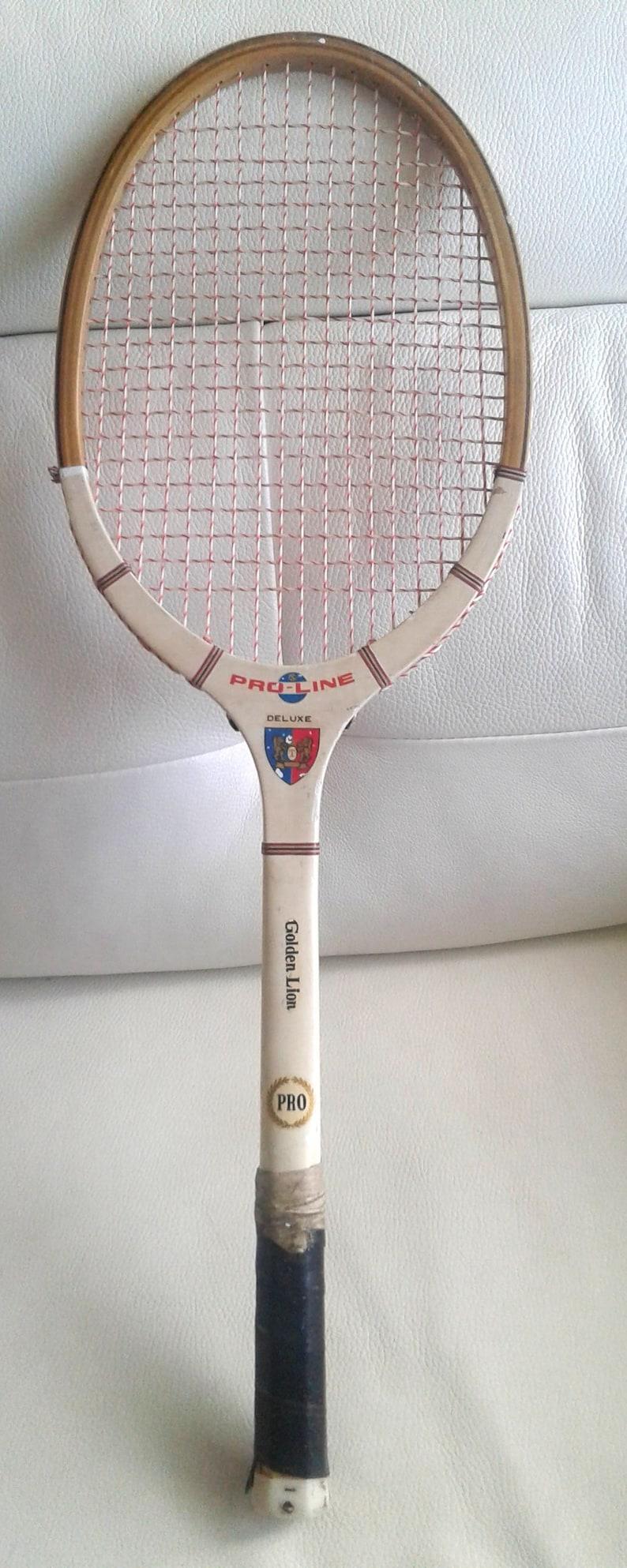 Golden lion Pro-Line tennis racket vintage 1970/'S