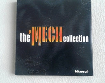 Vintage and rare pc game THE MECH COLLECTION