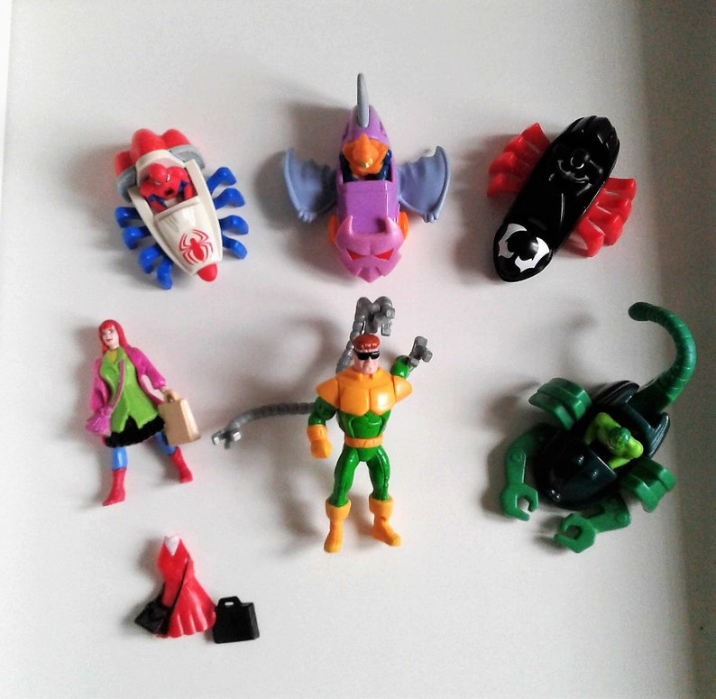 8710b8c4a97 Vintage 995 McDonalds Happy Meal toys Marvel Spider-Man Toy