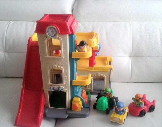 Very Rare Vintage 1999 Fisher Price Fun Sounds Garage Little Etsy