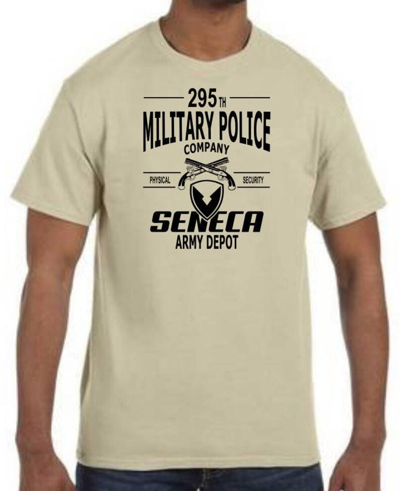 da59fe71 Seneca Army Depot 295 th Military Police Company T shirts | Etsy