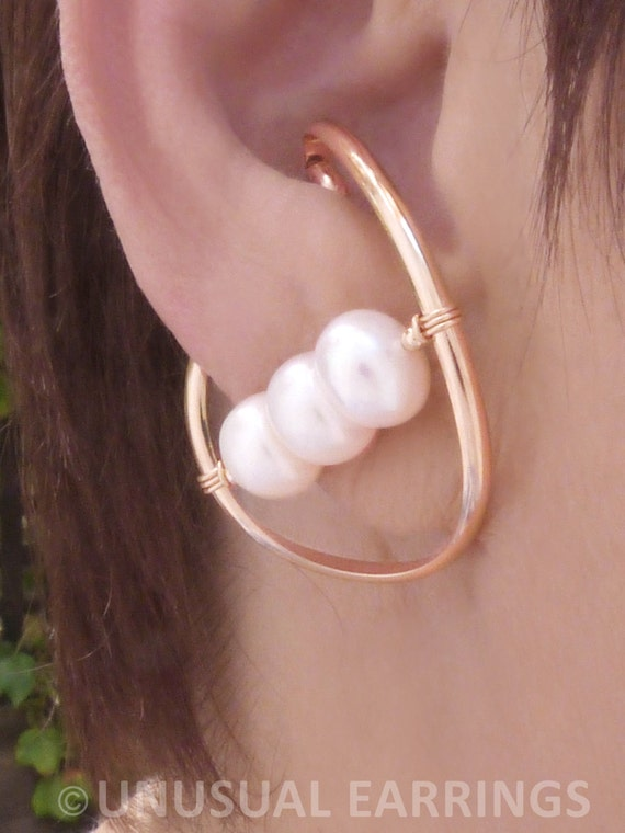 gold filled unpierced earrings non pierced ear cuff gold filled unpierced earrings non pierced earrings ear etsy 9702