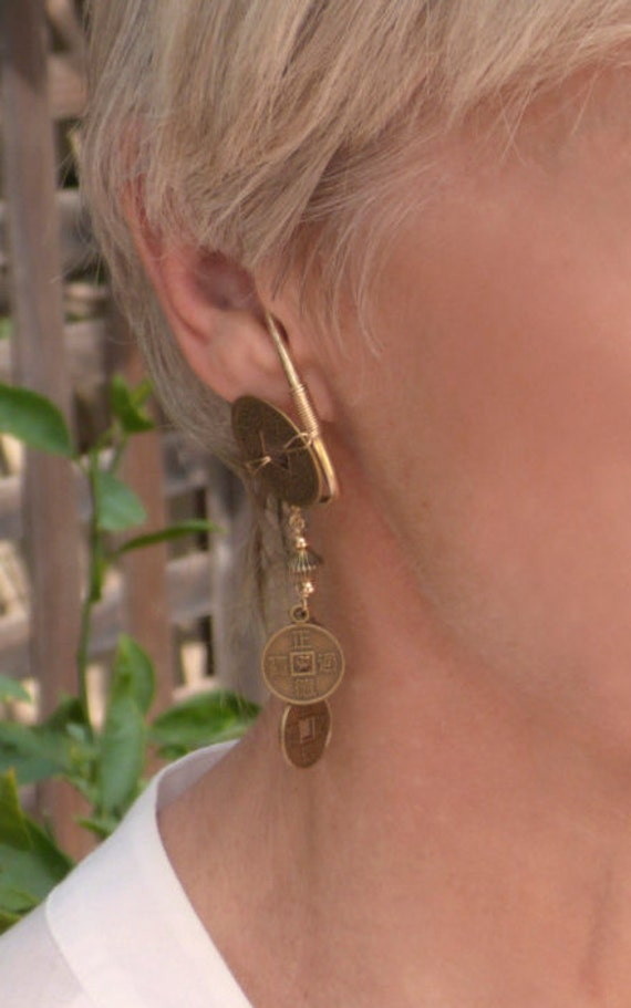 gold filled unpierced earrings non pierced ear cuff gold filled unpierced earrings non pierced earrings 2009