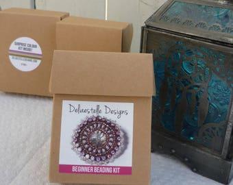 Beginner Beading Kit by Deliaestelle Designs