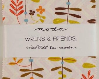 "Moda ""Wrens & Friends"" Charm Pack"
