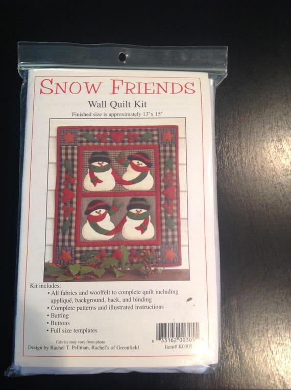Snow Friends Wall Quilt Kit