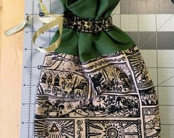 Legend of Zelda Drawstring Lined Dice Bag