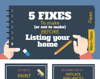 Real Estate Marketing Infograph Branded - 5 Fixes