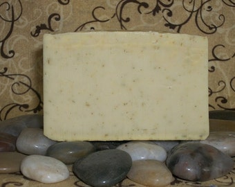Lemongrass Soap | Natural Soap | Shea Butter Soap | Clary Sage | Essential Oil Soap | Bath Soap | Vegan Soap | Splendor In The Lemongrass