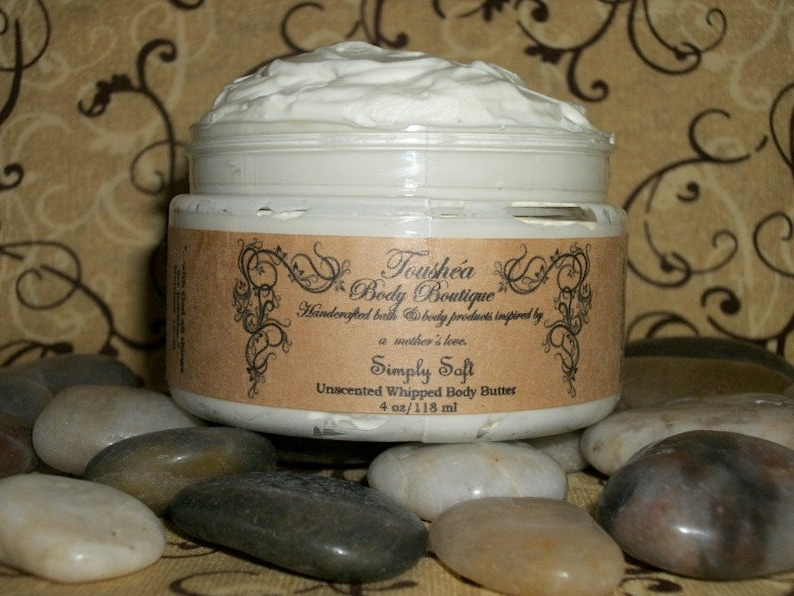 Unscented Body Butter Fragrance Free Body Butter Handmade image 0
