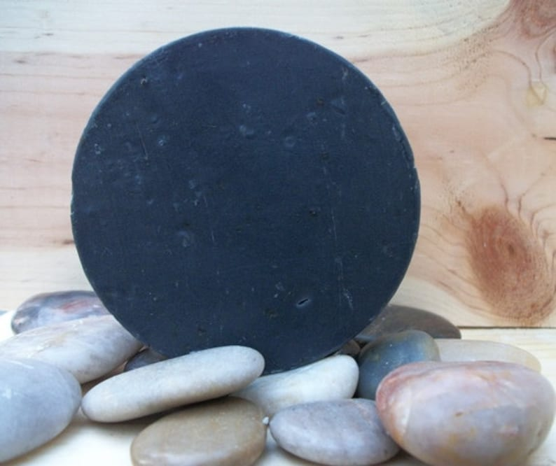 Activated Charcoal Face Soap Tea Tree Oil Detox Oily Skin image 0