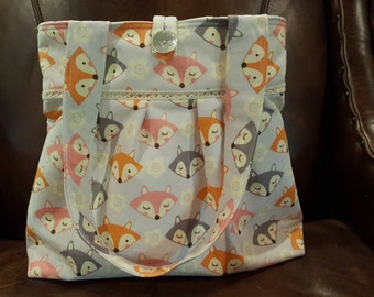 What Does the Fox Say Shoulder Bag/Diaper Bag