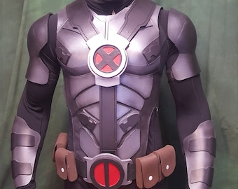 Deadpool XForce foam armor TEMPLATES