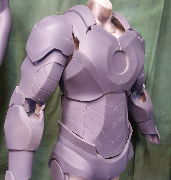 Ironman Foam Armor Templates Etsy