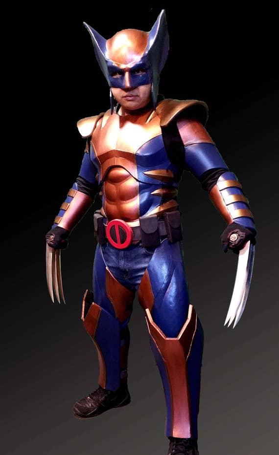 Wolverine Full Armor Foam Templates