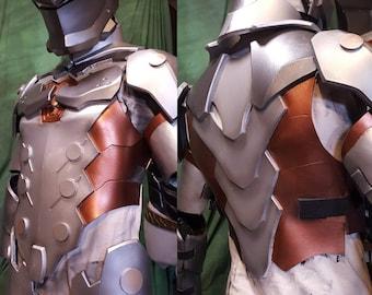 Genji Overwatch foam Cosplay TEMPLATES full armor