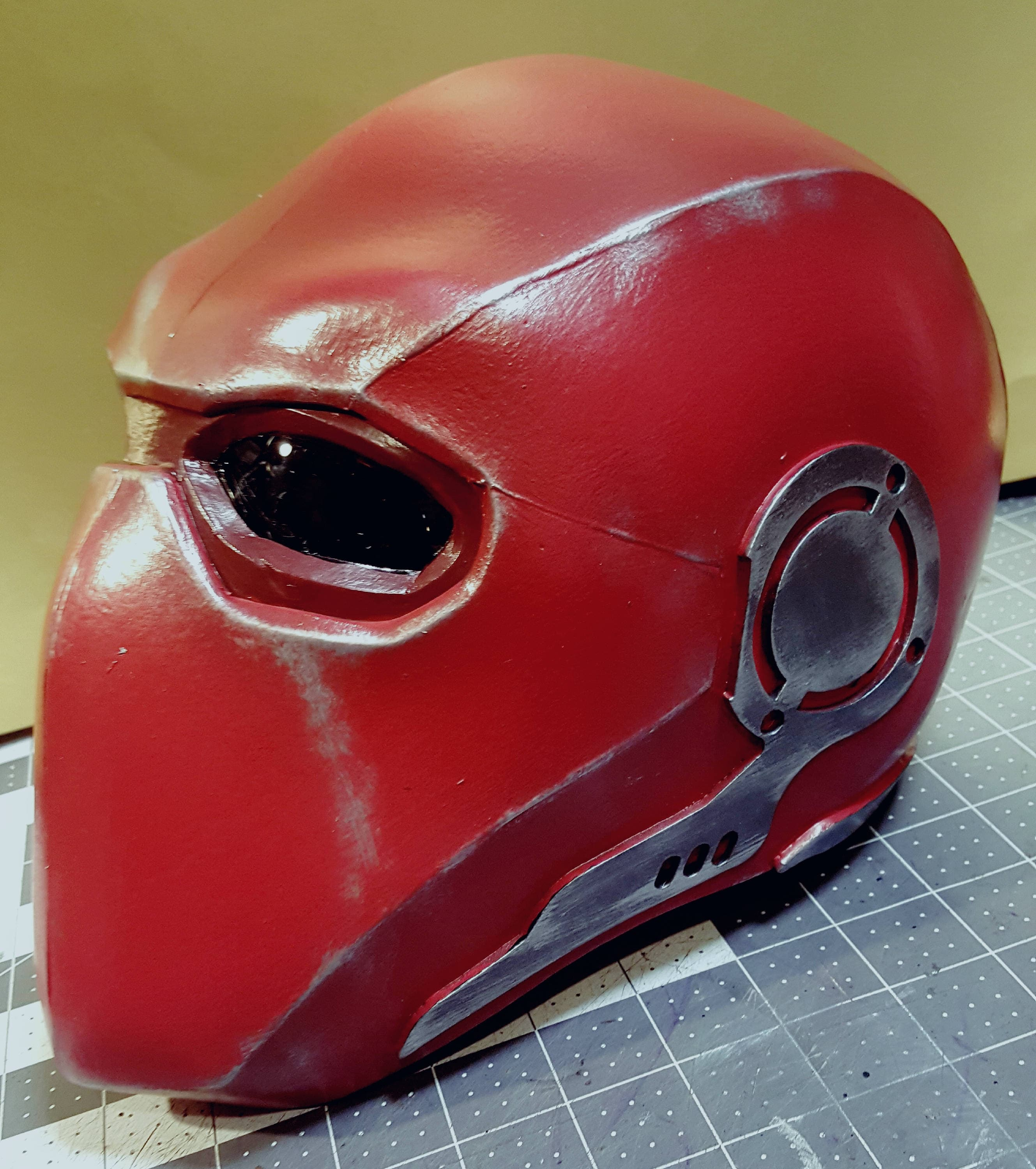 Redho0d Injusticetw0 Foam Helmet Templates Etsy