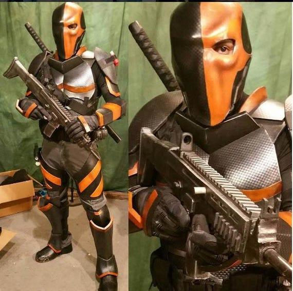 Deathstroke V1 Costume Cosplay Foam Templates Etsy