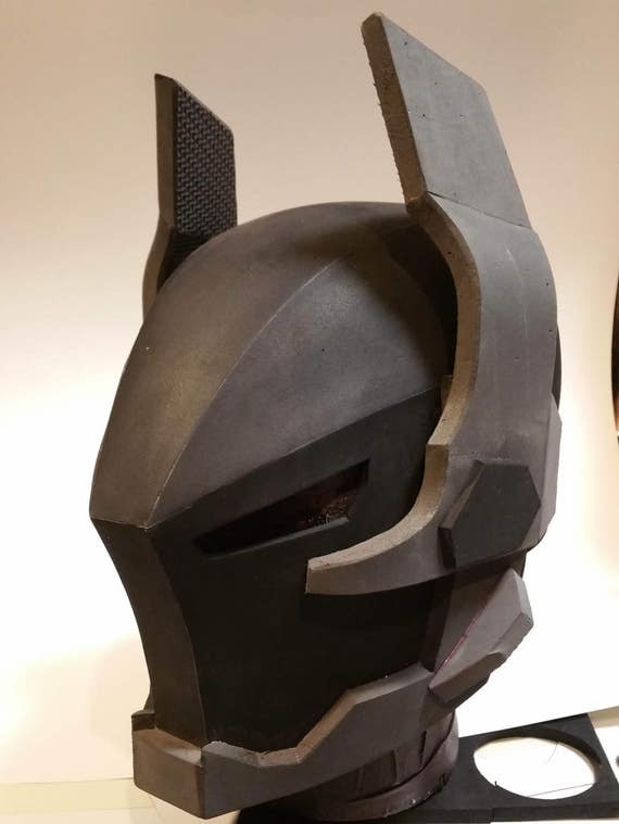 ark ham knight foam helmet template etsy