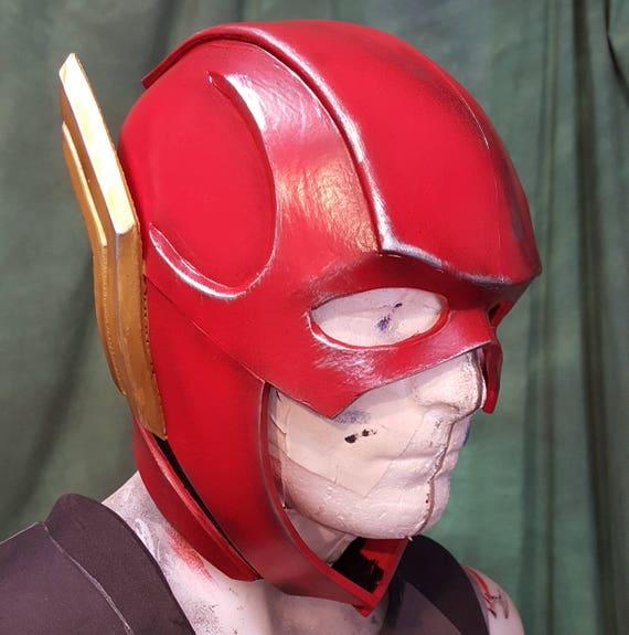 Flash Justice League foam helmet templates