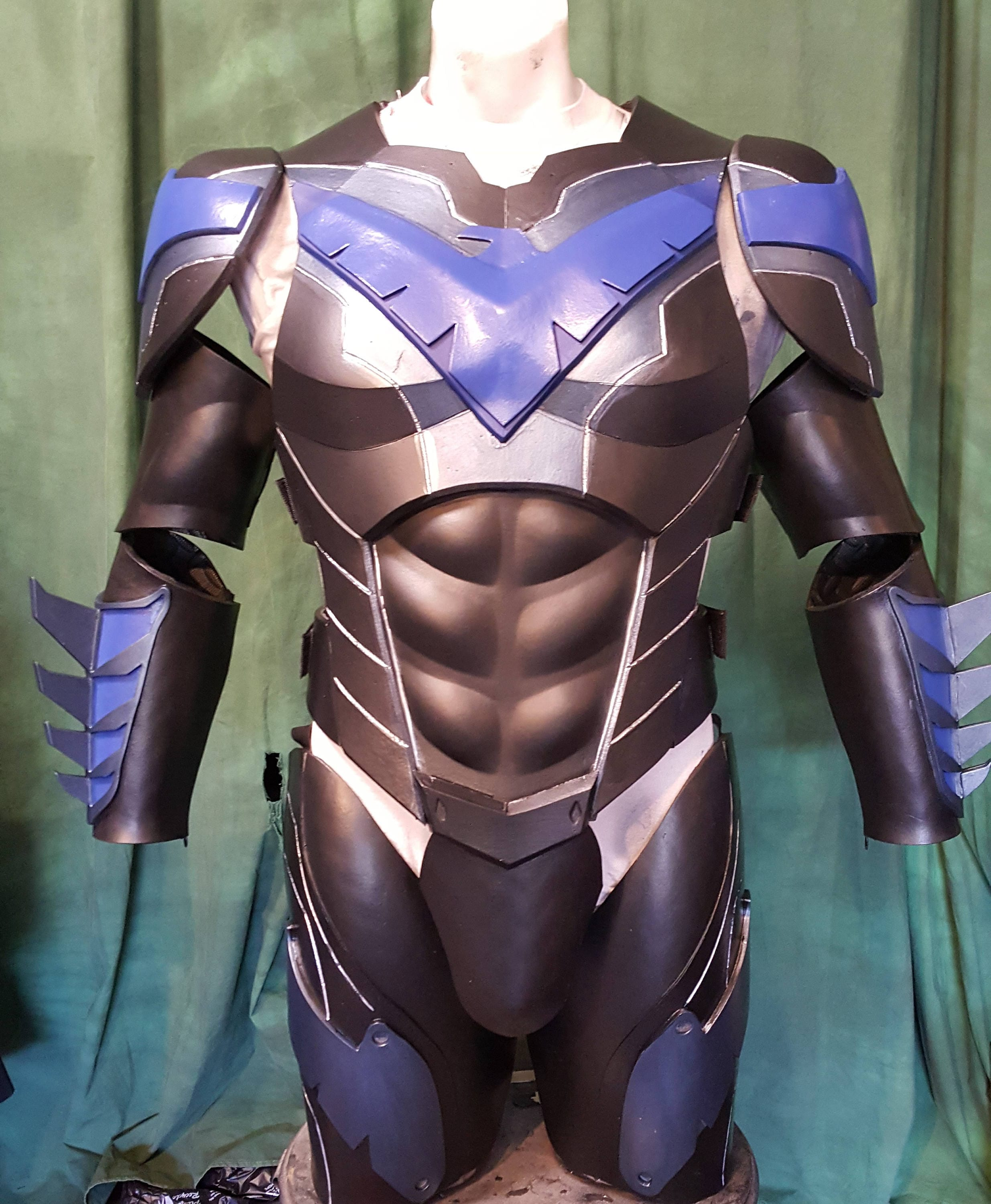 nightwlng complete foam armor templates from xiengprod on etsy studio