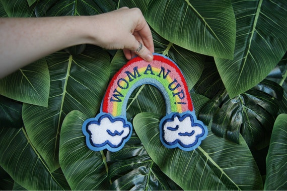 Woman Up Big Patch