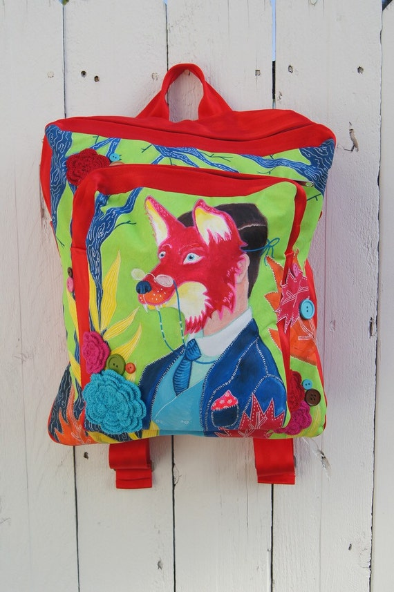 Fox Mask BackPack