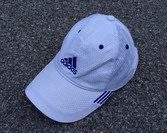 92f0baf4ffb ADIDAS EQUIPMENT Cap Vintage 90 s Adidas Sportswear Cap Snapback Sportswear Adidas  Hat Adidas Baseball Cap Adjustable Size Adidas White Cap
