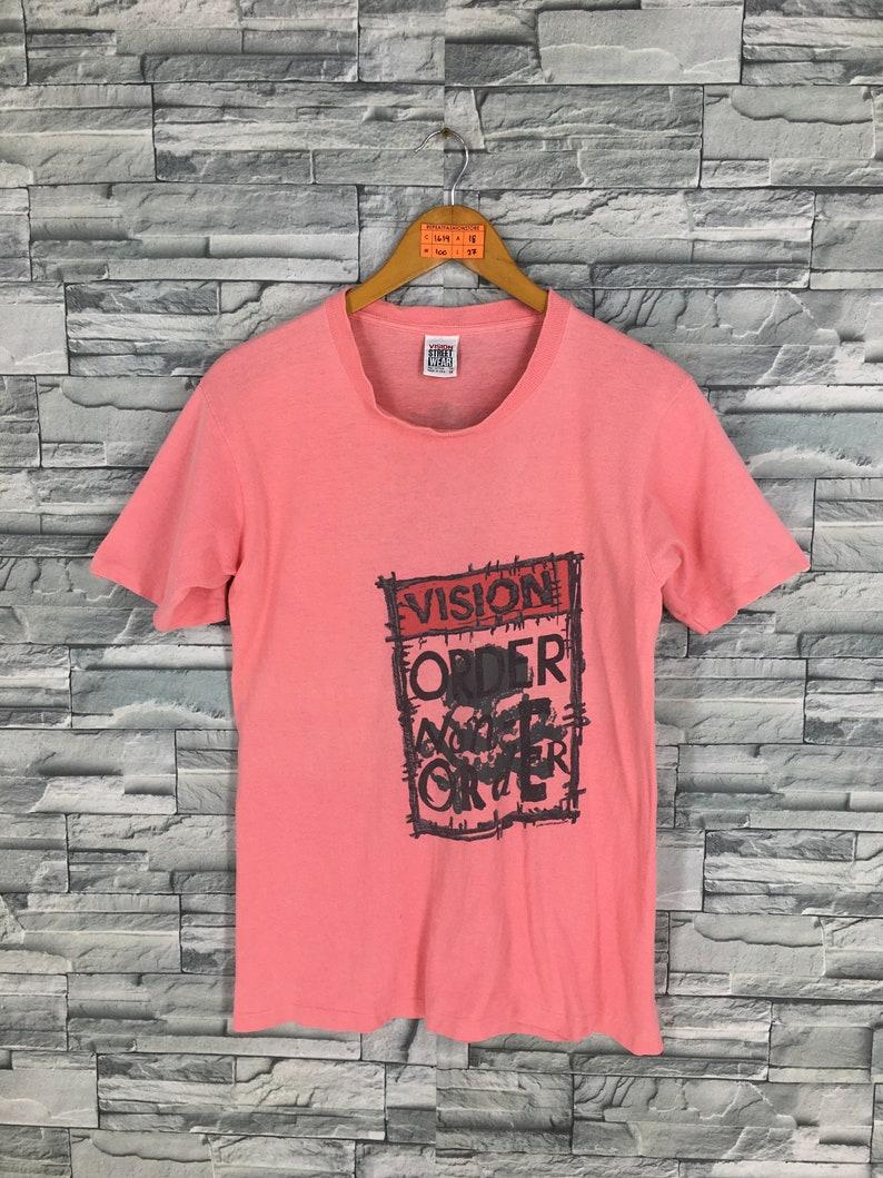 7a92d53f63 VISION STREET WEAR Shirt Medium Vintage 80s Vision