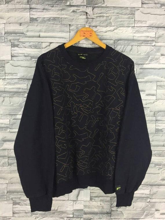 9015728a8a5fd SWAGGER Sweatshirts Large Hip Hop Japan Bape Abstract Design   Etsy